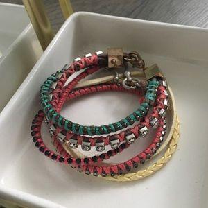 Jewelry - Set of colorful bracelets